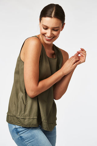 Sleeveless Tank _ 116837 _ Fatigue