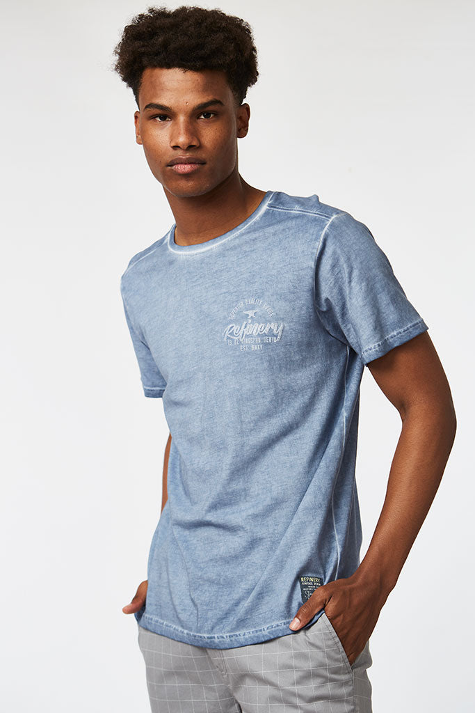 Fashion Tee _ 111831 _ Stone Wash