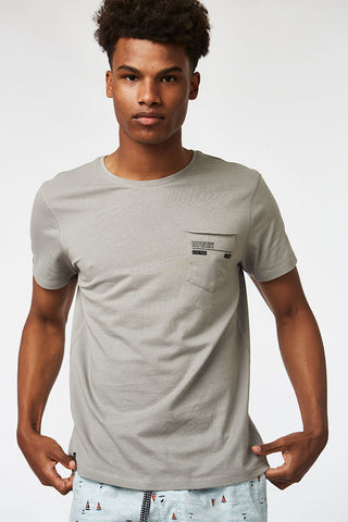 Basic Tee _ 115490 _ Dark Grey