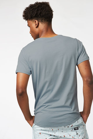 Basic Tee _ 115490 _ Pale Blue