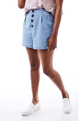 Denim Shorts _ 115607 _ Chambray