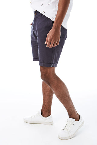 Slim Fit Chino Shorts _ 114536 _ Charcoal