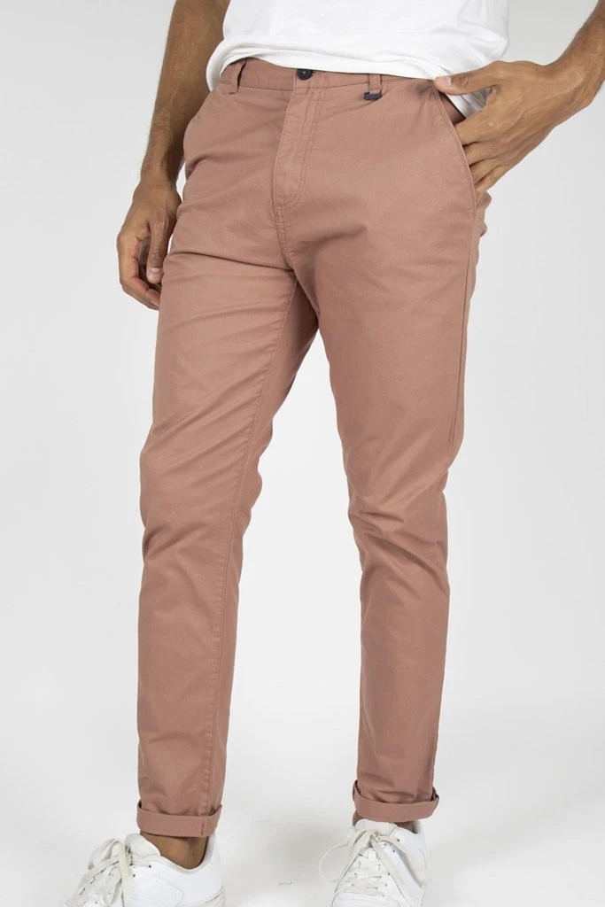 Core Chino _ 110553 _ Dirty Pink