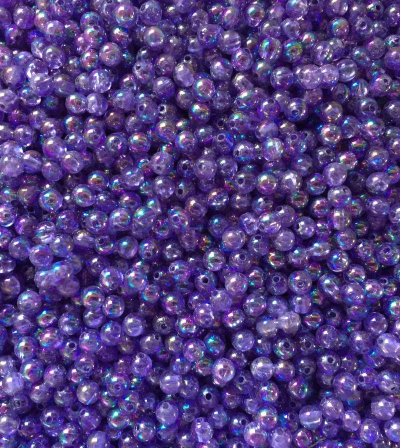 AB21-Pearl Purple Beads