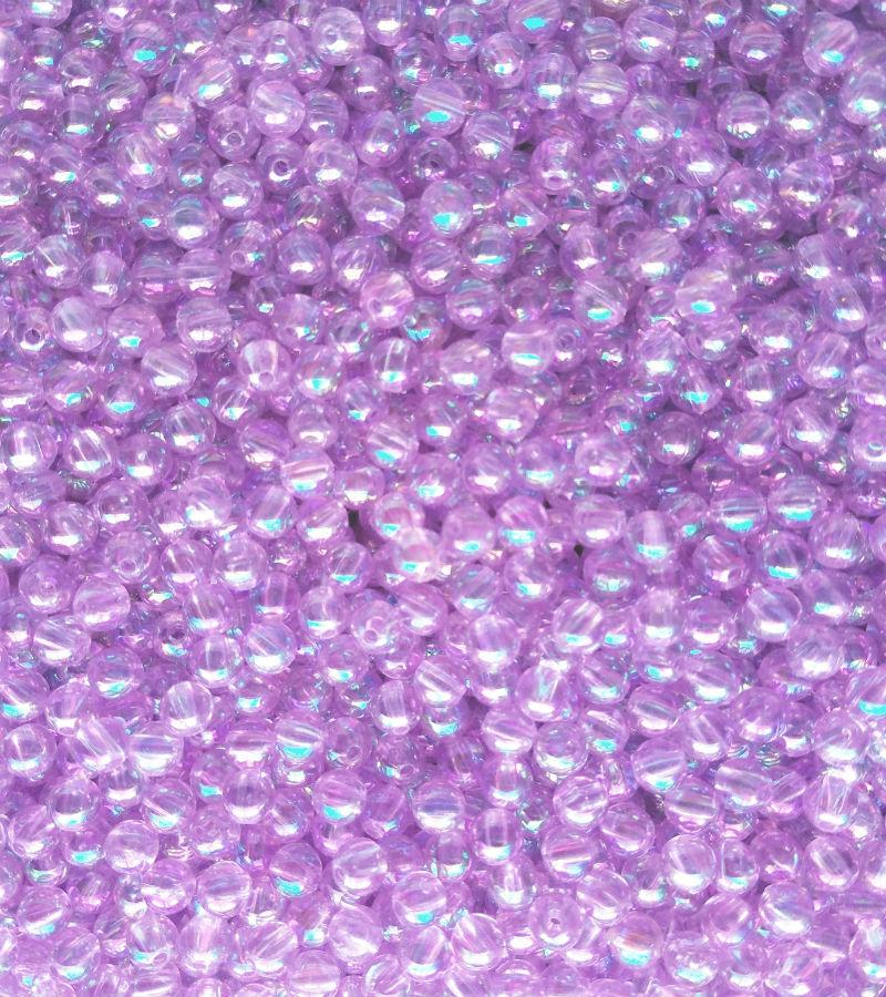 AB29-Pearl Lite Purple Beads