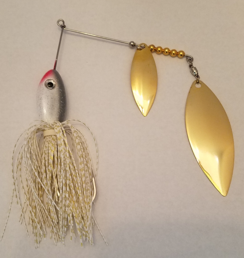 Alewife/Gold Spinnerbait