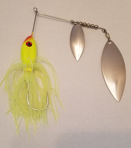 Chartreuse/Silver Spinnerbaits