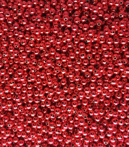 D8-Metallic Red Beads