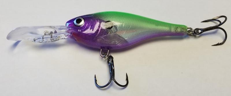 Grape Limeade Glass Shad Rap