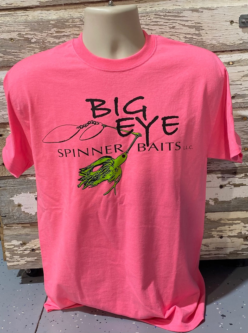 Pink w/Lime Green Spinnerbait T-Shirt