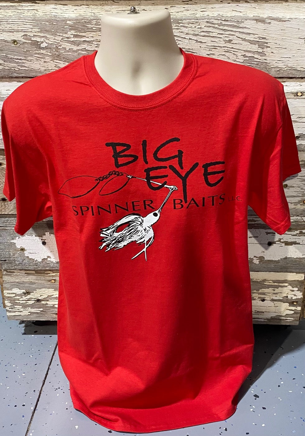 Red w/White Spinnerbait T-Shirt