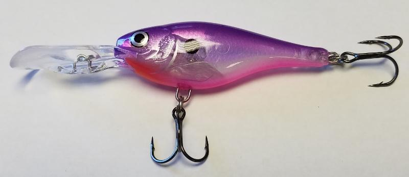 Purple Candy Glass Shad Rap