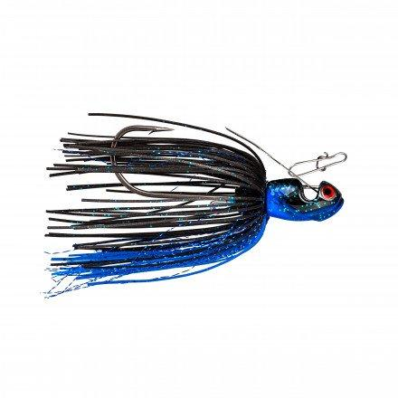Black Blue Melee Bladed Jig