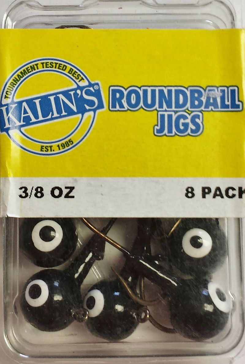 Black Kalin Jigs