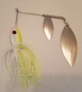Char White/Silver Spinnerbaits
