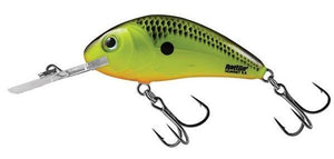 3.5 Chartreuse Shad Rattlin Hornet