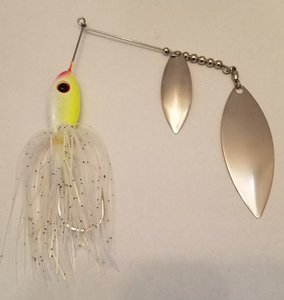 Clear Water Magic/Silver Spinnerbaits