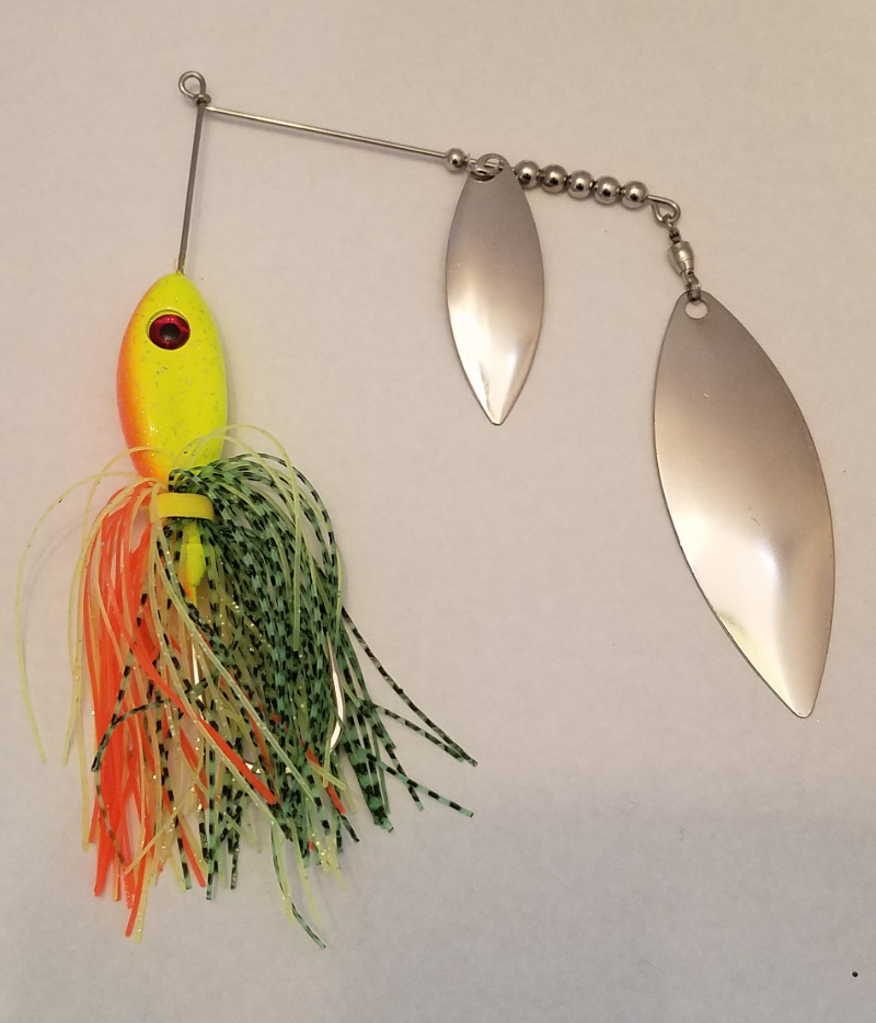 Fire Tiger/Silver Spinnerbaits