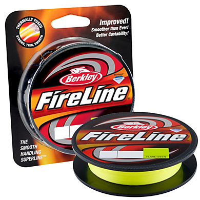 Berkley Flame Green Fireline