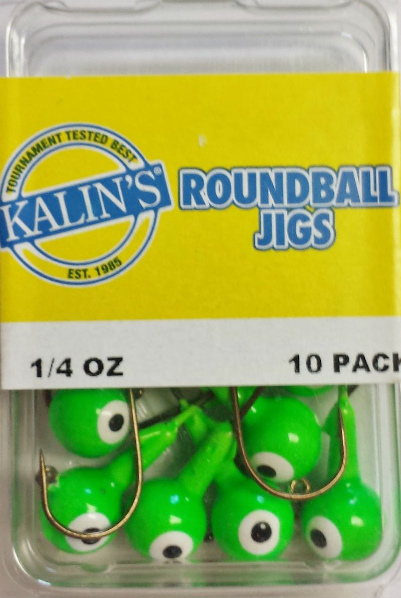 Lime Green Kalin Jigs