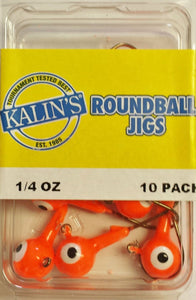 Orange Kalin Jigs