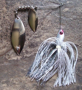 1/4 oz Shad/Silver Blades Small Spinnerbaits