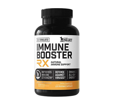 IMMUNE BOOSTER RX SUPPLEMENT FOR MEN 40+