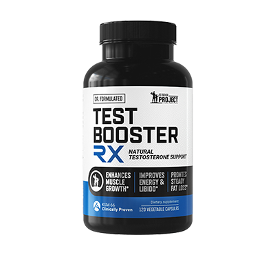 TESTOSTERONE BOOSTER RX SUPPLEMENT FOR MEN 40+
