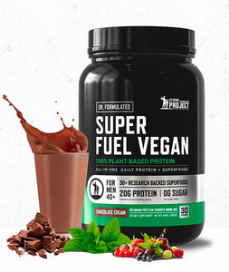 Load image into Gallery viewer, Superfuel Vegan Protein (Chocolate)