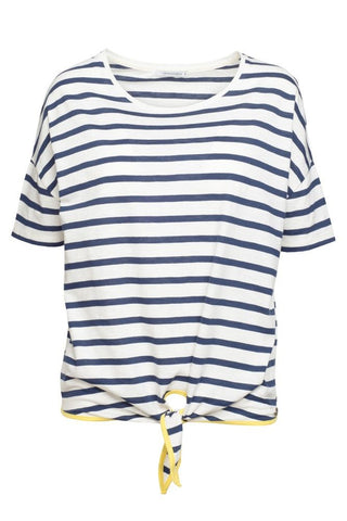 Armedangels <br/> Paulina Stripes <br/> off white/navy