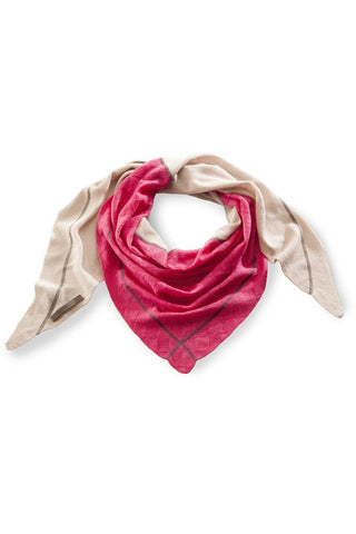 Feynest<br/> Avril Cashmere Schal <br/> strawberry pink & sand