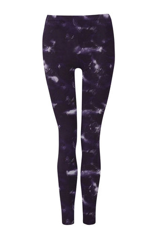 Wellicious <br/> Easy Leggings <br/> cloud print blue