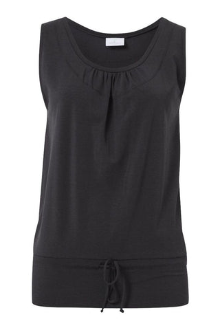 Wellicious <br/> Easy Nosleeve Top <br/> pebble grey