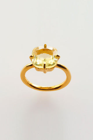 Miaki<br/>Ring<br/> Lemonquarz