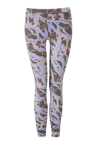 Wellicious <br/> Easy Leggings <br/> print orange-blue