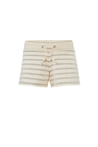 Juvia<br/>Streifen Sweat Shorts<br/>cream-grey