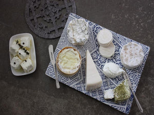 Celebrating goats cheese.