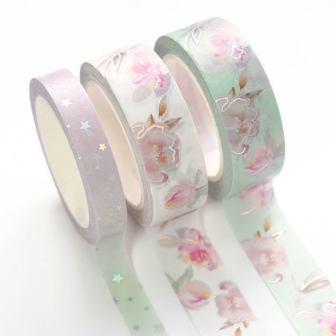 Amelia Holographic // Washi Tape
