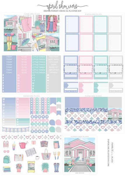 April Showers // Full Kit - Paper Chic Plans