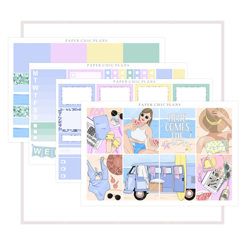 Beach Vibes // Mini Kit - Paper Chic Plans