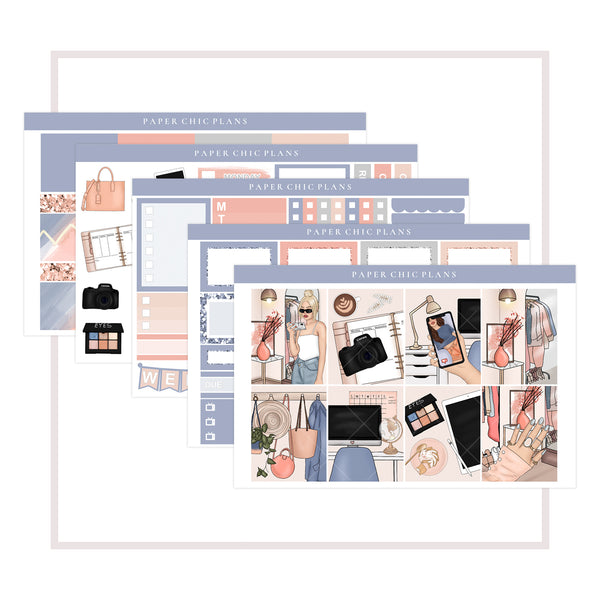 Blogger Babe // Mini Kit - Paper Chic Plans