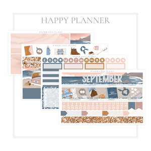 SEPTEMBER : Bonfire // Happy Planner Classic Monthly Planner Kit - Paper Chic Plans
