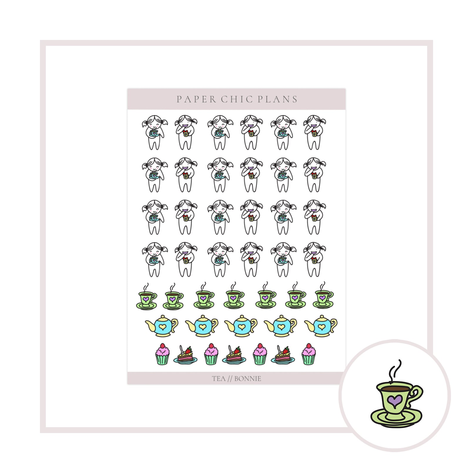 Tea // Bonnie Collection - Paper Chic Plans