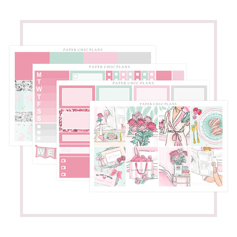Breakfast in Bed // Mini Kit - Paper Chic Plans