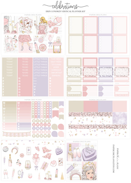 Celebrations // Full Kit - Paper Chic Plans
