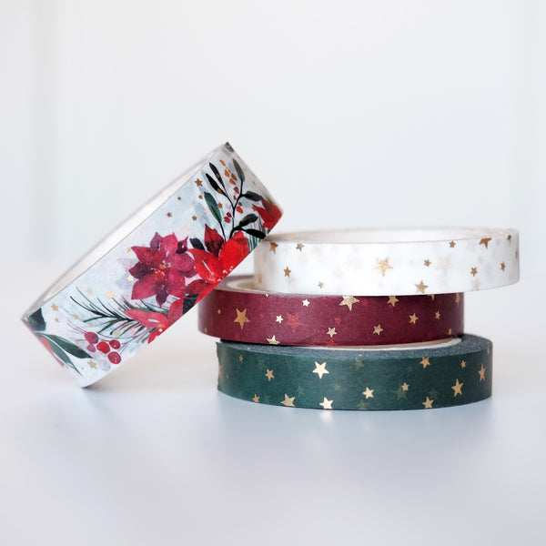 Christmas Bouquet // Washi Tape