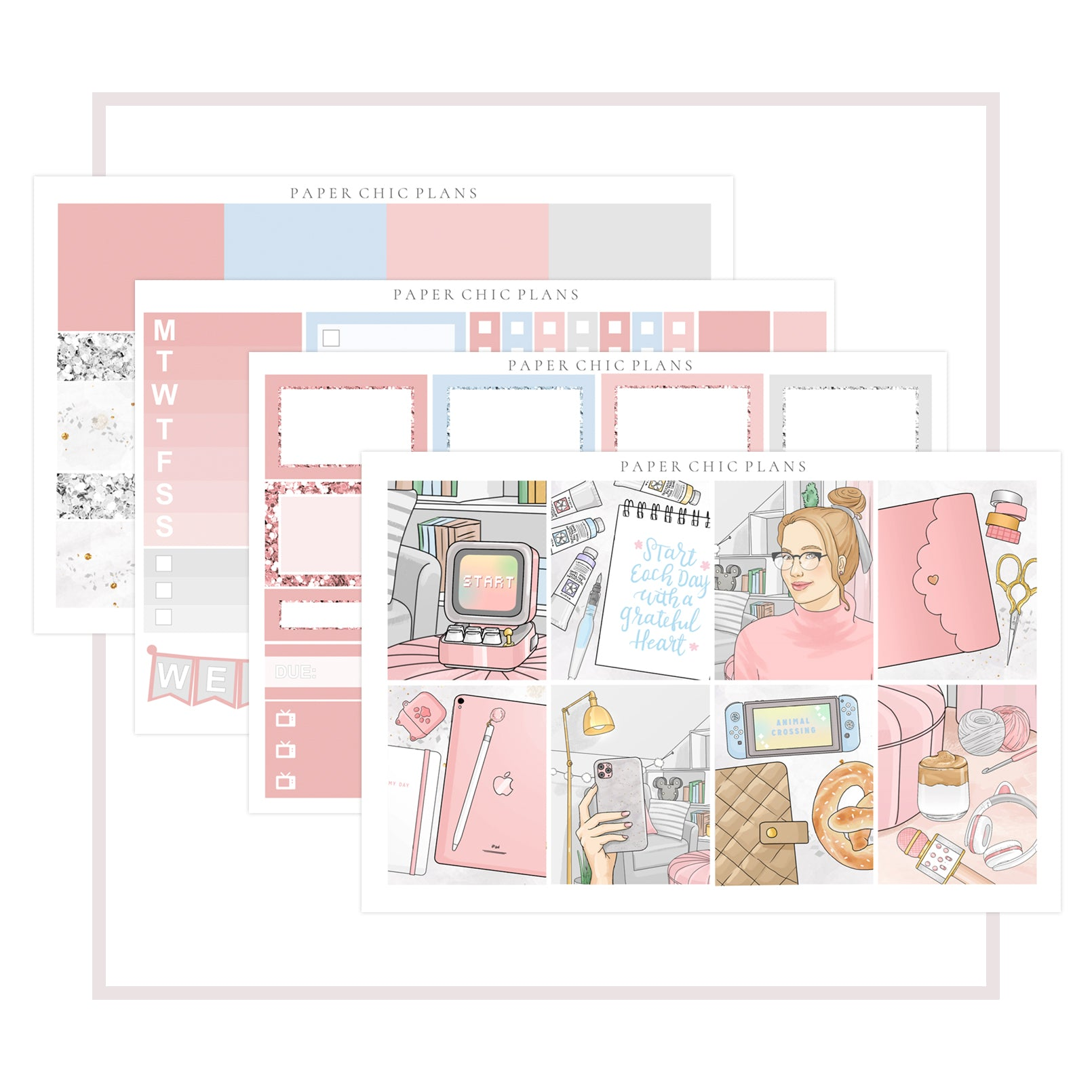 Cozy Corner // Mini Kit - Paper Chic Plans