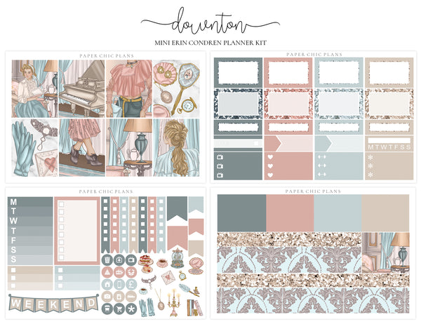 Downton // Mini Kit - Paper Chic Plans