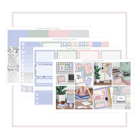 Fresh Start // Mini Kit - Paper Chic Plans