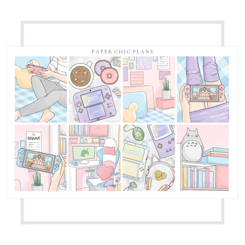 Gamer Girl // Full Kit - Paper Chic Plans